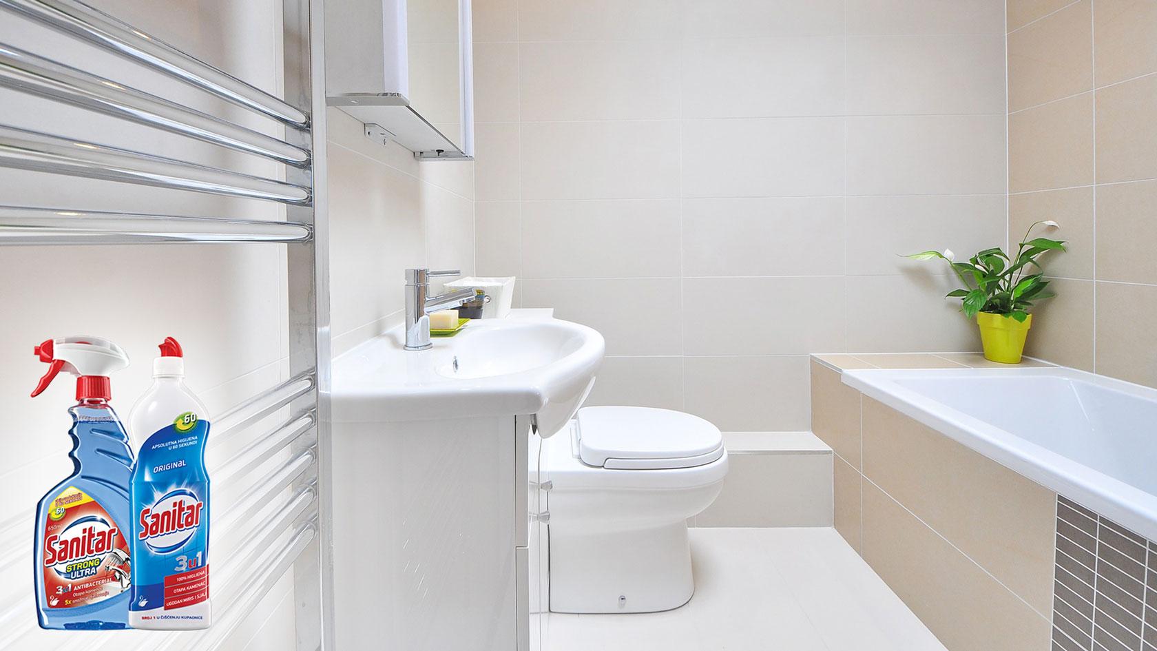 Čista kupaonica