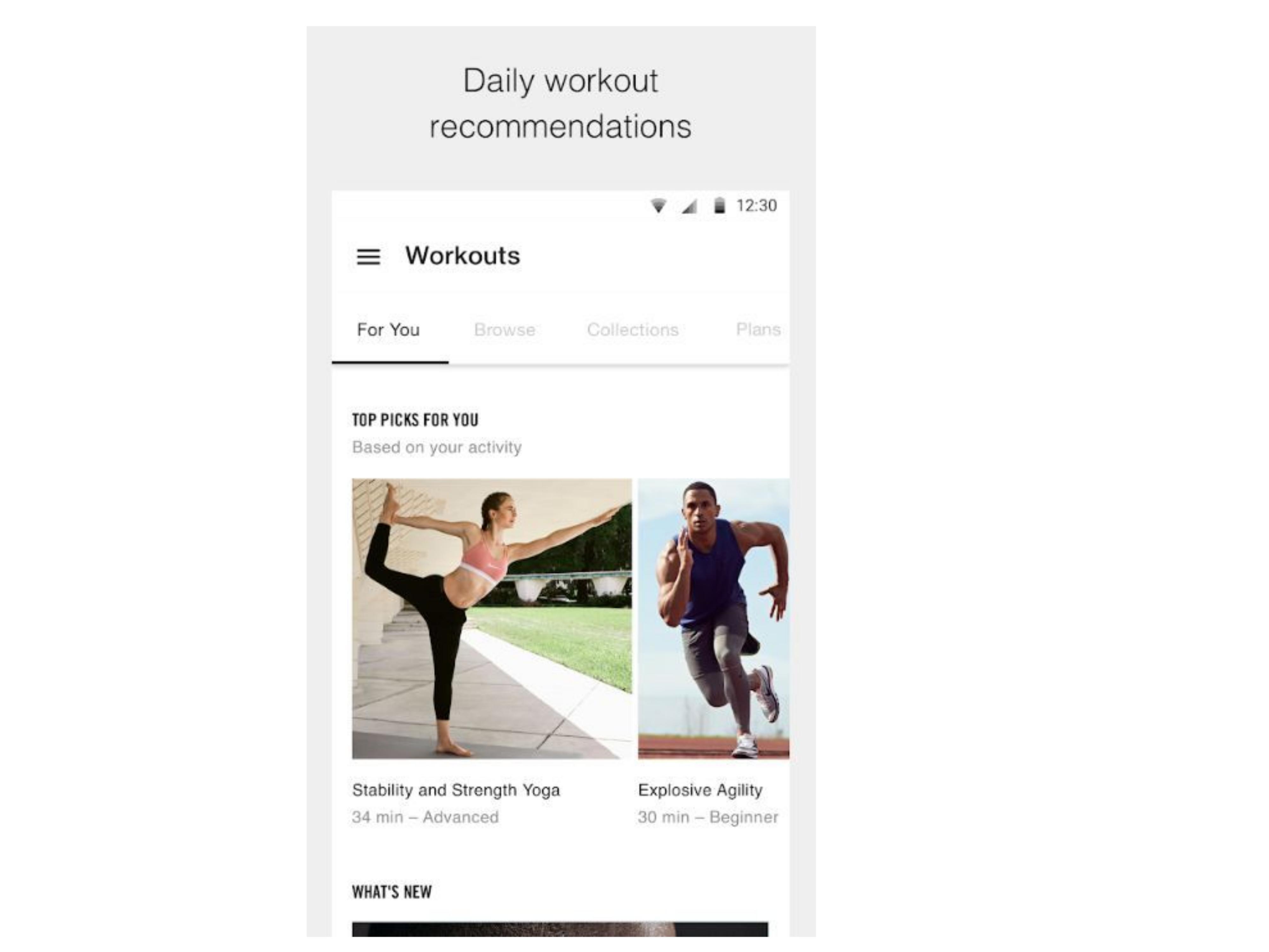 aplikacija za fitness