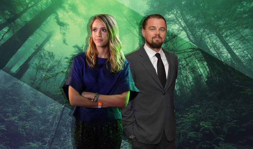 Leonardo Di Caprio i Jessica Alba ekologija