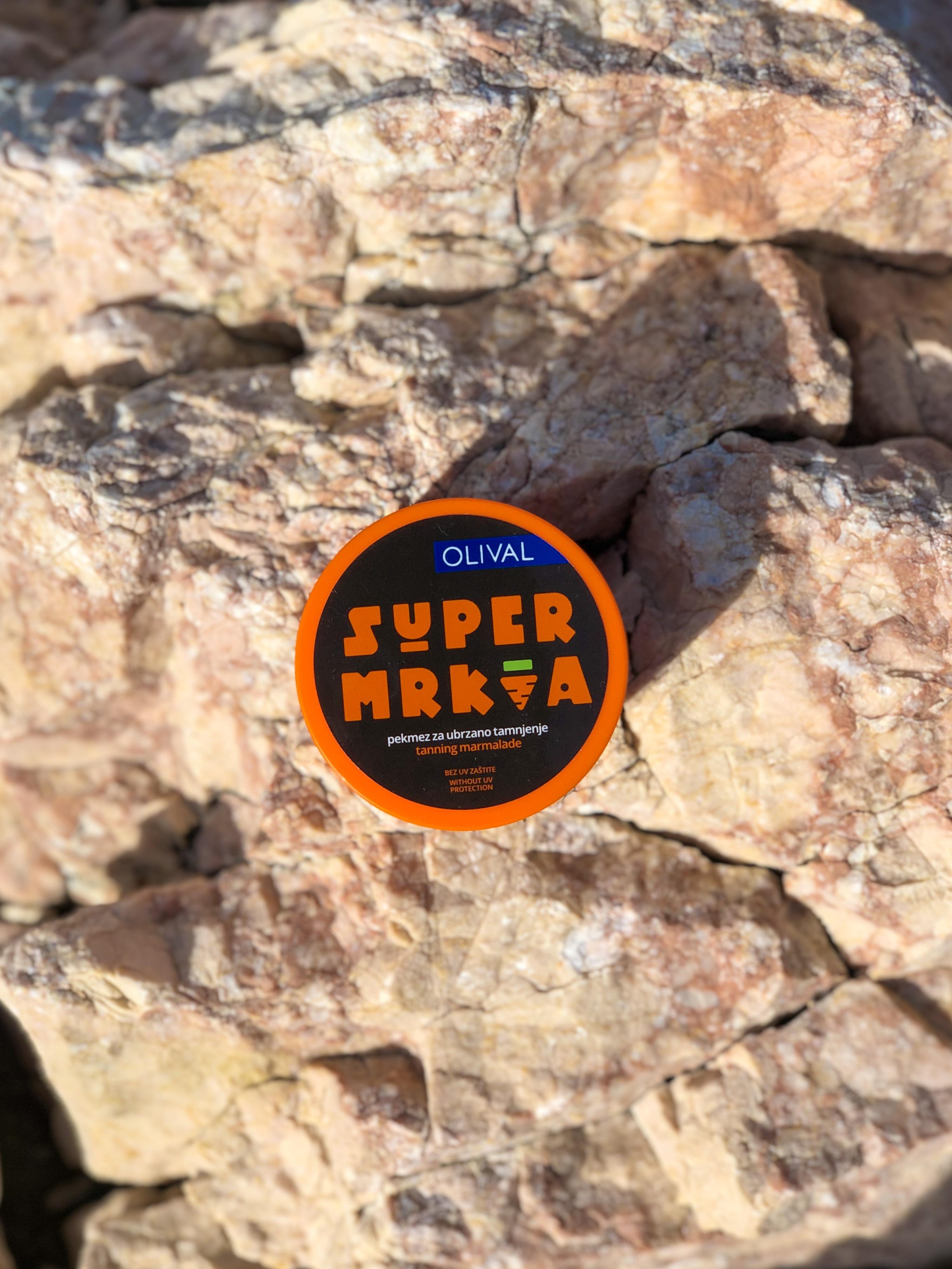 SUPERMrkvaPekmez za ubrzano tamnjenje bez UV zaštite