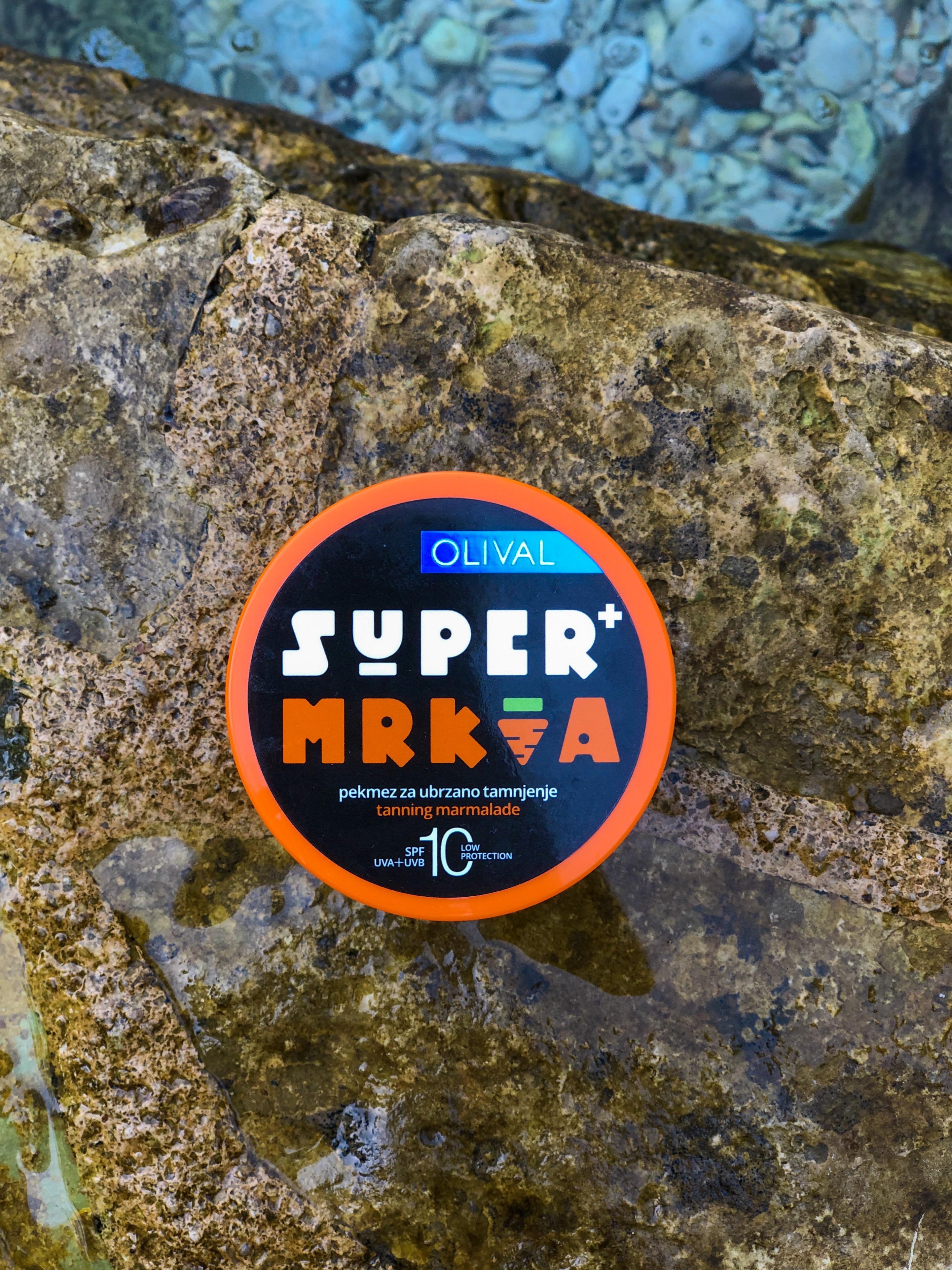 SUPERMrkvaPekmez za ubrzano tamnjenje SPF 10