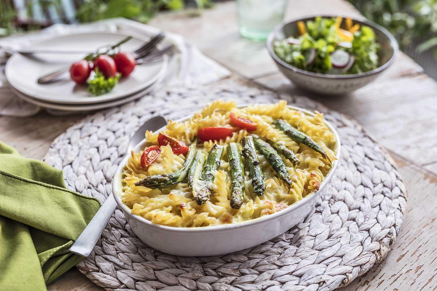 Proljetna zapečena tjestenina