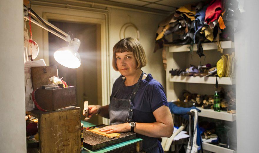 Zagrepčanka Nataša Trinajstić sama si zna napraviti cipele; malo smo joj zavidne na tome