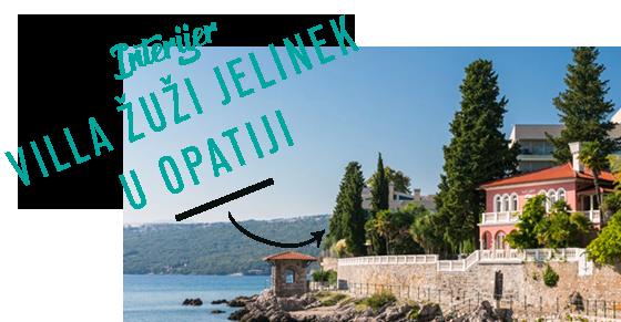 INTERIJER Villa Žuži Jelinek u Opatiji