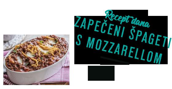 Zapačeni špageti