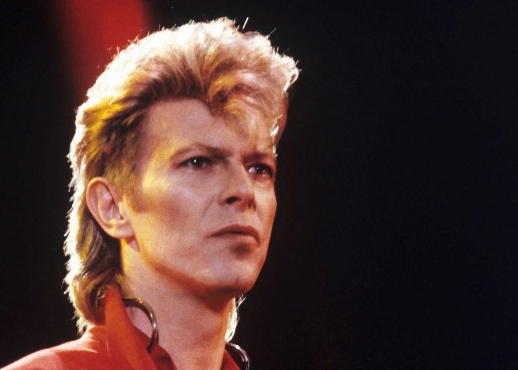 Britanski glazbenik David Bowie, 7. lipnja 1987.